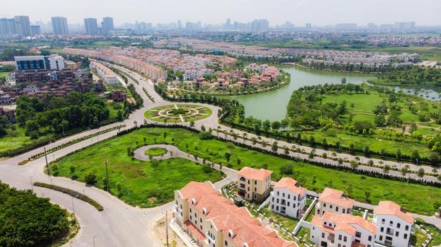 Bên trong 2 dự án biệt thự, nhà liền kề tăng giá nóng ở phía Tây Hà Nội - Ảnh 1.