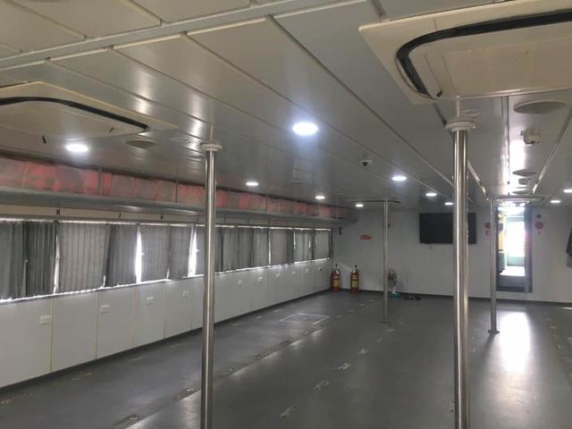 Tàu cao tốc 5 sao tháo hết ghế hành khách để chở thực phẩm, rau xanh cho TP HCM: Bình tâm nhé, dịch sẽ sớm qua thôi! - Ảnh 3.