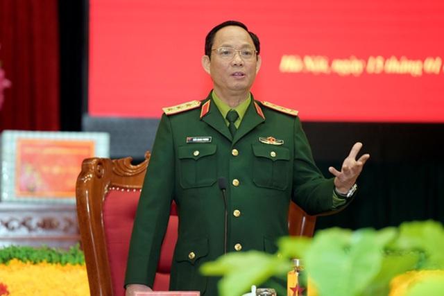 Chân dung Thượng tướng quân đội được giới thiệu để bầu Phó Chủ tịch Quốc hội  - Ảnh 1.