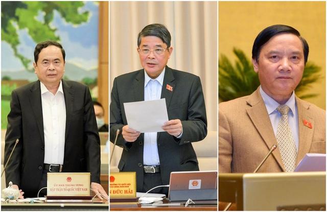 Bầu 4 Phó Chủ tịch Quốc hội khóa XV  - Ảnh 1.