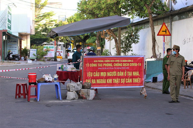 Đà Nẵng phát hiện 2 chuỗi lây nhiễm mới chưa rõ nguồn lây liên quan bảo vệ Điện Máy Xanh và tiểu thương cảng cá Thọ Quang - Ảnh 1.
