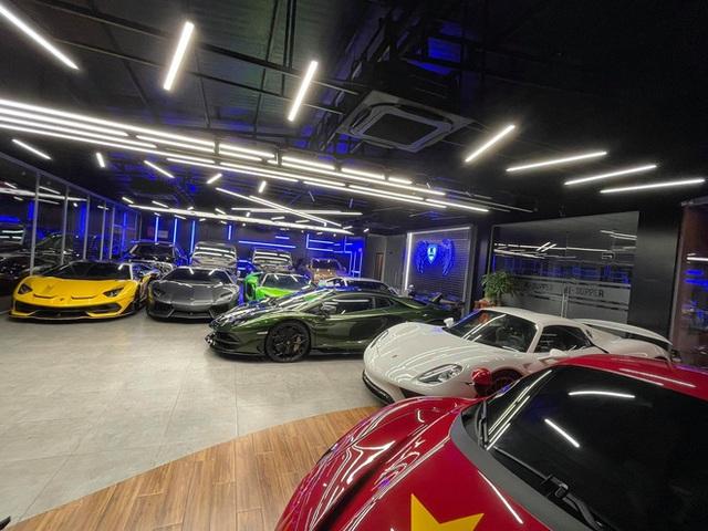 Lamborghini Aventador SVJ màu độc nhất vô nhị vừa về Việt Nam nằm trong showroom siêu xe trăm tỷ tại Sài Gòn - Ảnh 7.