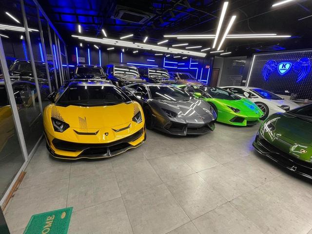 Lamborghini Aventador SVJ màu độc nhất vô nhị vừa về Việt Nam nằm trong showroom siêu xe trăm tỷ tại Sài Gòn - Ảnh 8.