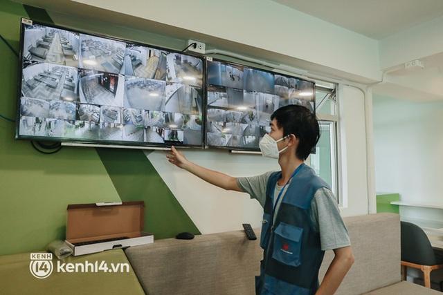 Cận cảnh bệnh viện dã chiến số 5 tại Thuận Kiều Plaza trước ngày hoạt động - Ảnh 13.