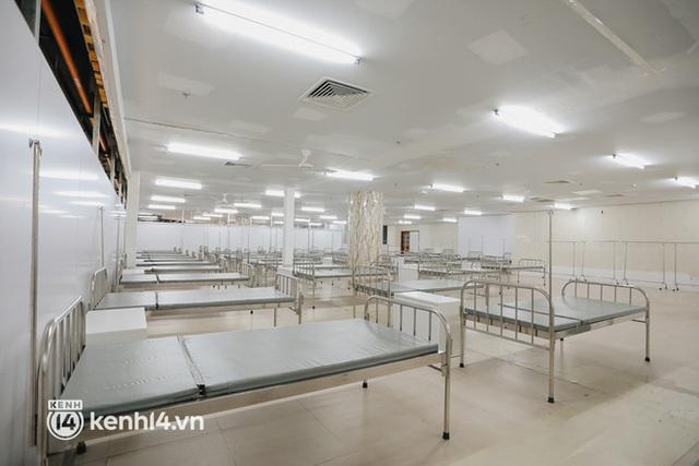 Cận cảnh bệnh viện dã chiến số 5 tại Thuận Kiều Plaza trước ngày hoạt động - Ảnh 7.