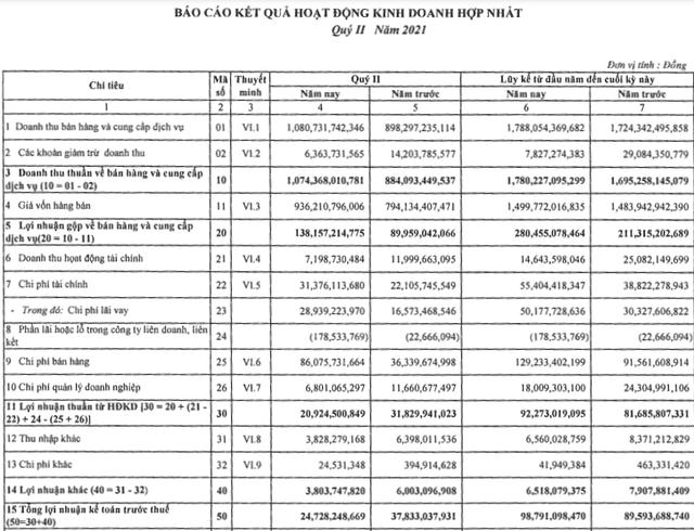 Thuỷ sản Nam Việt (ANV): Chi phí cước tàu, vận chuyển tăng đột biến kéo lùi lợi nhuận quý 2/2021 - Ảnh 1.