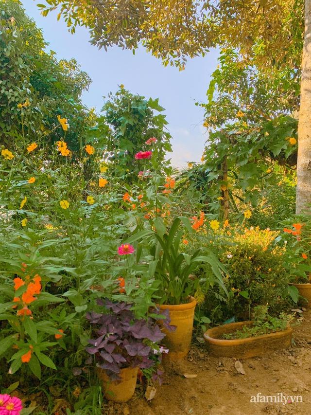 Cuộc sống yên bình bên khu vườn 2000m² sau hai năm bỏ phố về quê của cặp vợ chồng 9X - Ảnh 7.