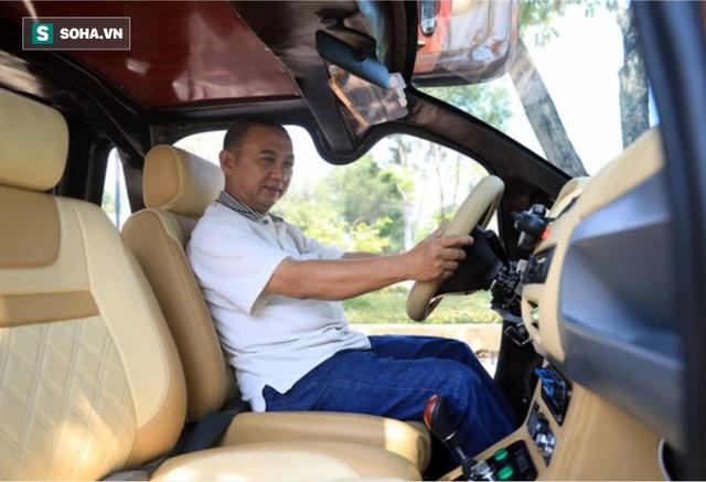 Cha đẻ chiếc ô tô điện Việt Nam chạy 100km tốn 15.000 đồng tiền điện: Tôi đã phải bán nhà - Ảnh 8.