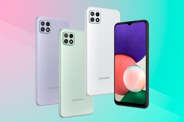 Smartphone 5G giá rẻ nhất của Samsung lên kệ tại Việt Nam - Ảnh 1.
