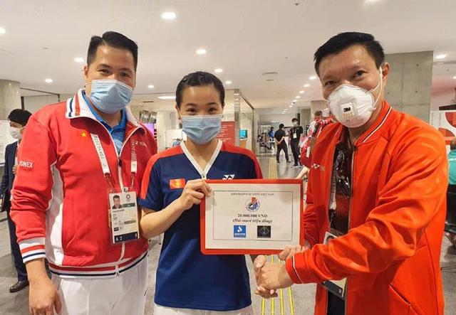 Hot girl cầu lông Nguyễn Thuỳ Linh đại thắng sao Pháp gốc Trung Quốc ở Olympic Tokyo - Ảnh 1.