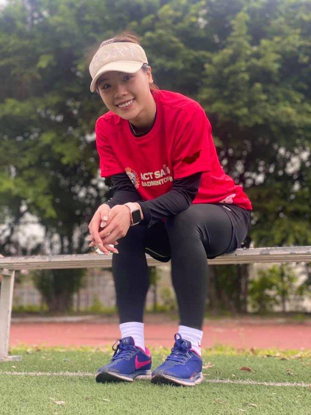 Hot girl cầu lông Nguyễn Thuỳ Linh đại thắng sao Pháp gốc Trung Quốc ở Olympic Tokyo - Ảnh 5.
