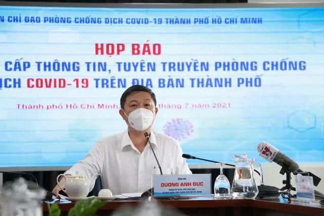 Lãnh đạo TP HCM thông tin về việc cho Vingroup mượn 5.000 liều vắc-xin  - Ảnh 1.