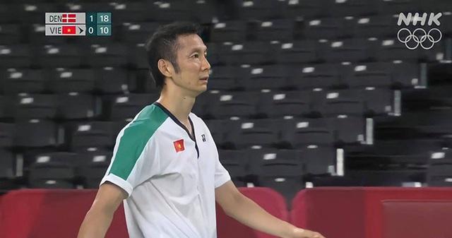 Tiến Minh chật vật đấu tay vợt số ba thế giới, nhận tin không vui ở lần thứ tư dự Olympic - Ảnh 2.