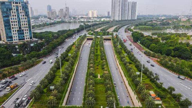 CLIP: Đường phố Hà Nội những ngày thực hiện chỉ thị 16 qua góc nhìn flycam  - Ảnh 12.