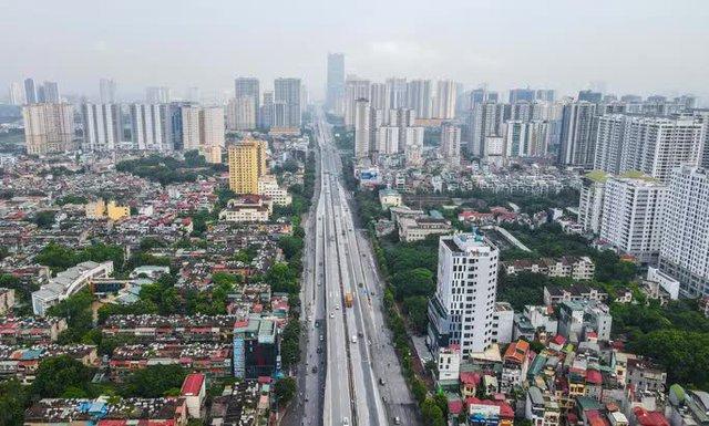CLIP: Đường phố Hà Nội những ngày thực hiện chỉ thị 16 qua góc nhìn flycam  - Ảnh 13.