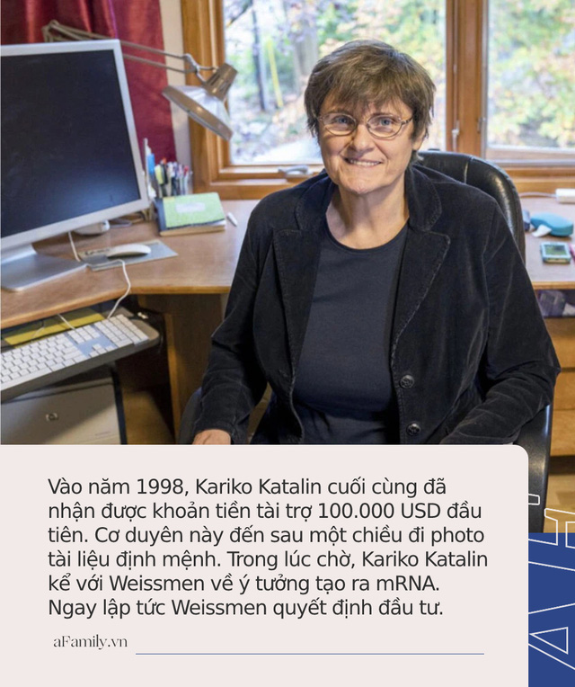 Câu chuyện về Kariko Katalin - Người phụ nữ cả thế giới biết ơn nhờ đưa công nghệ mRNA vào điều chế vaccine COVID-19 Pfizer và Moderna  - Ảnh 5.