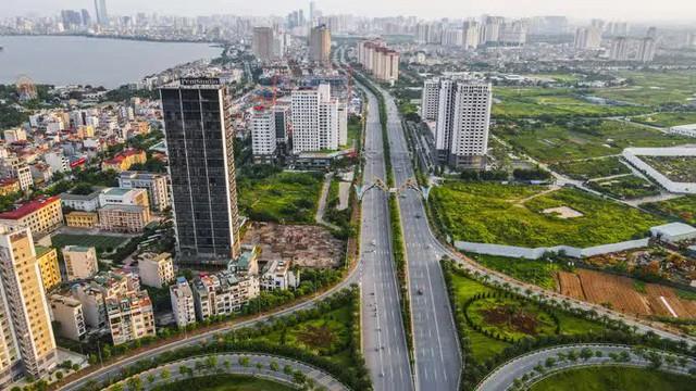 CLIP: Đường phố Hà Nội những ngày thực hiện chỉ thị 16 qua góc nhìn flycam  - Ảnh 11.
