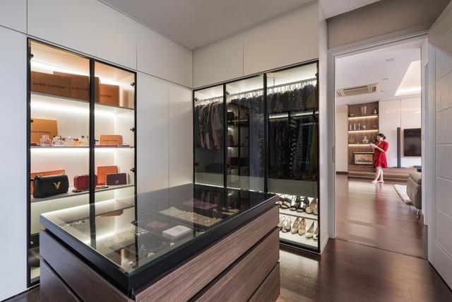 Căn hộ 120m² đẹp sang chảnh chẳng kém gì biệt thự tại Hà Nội - Ảnh 10.