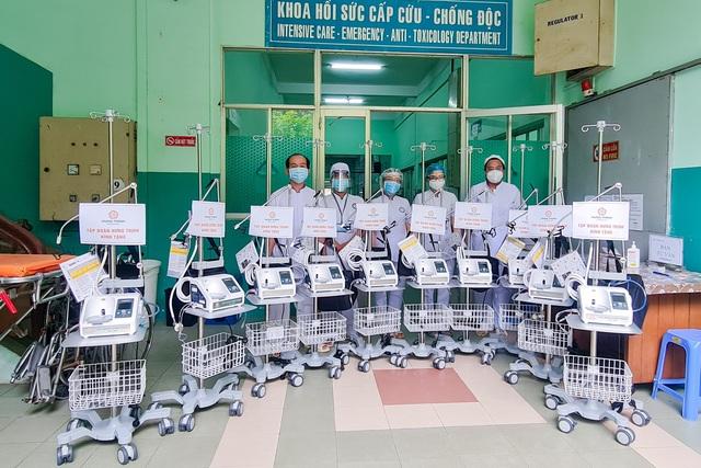 Tập đoàn Hưng Thịnh hỗ trợ hơn 35 tỉ đồng phòng, chống dịch tại Tp.HCM - Ảnh 1.