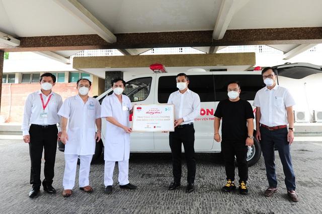 Tập đoàn Hưng Thịnh hỗ trợ hơn 35 tỉ đồng phòng, chống dịch tại Tp.HCM - Ảnh 2.