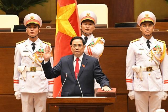 6 trọng tâm của Chính phủ trong phát biểu nhậm chức của Thủ tướng Phạm Minh Chính - Ảnh 1.