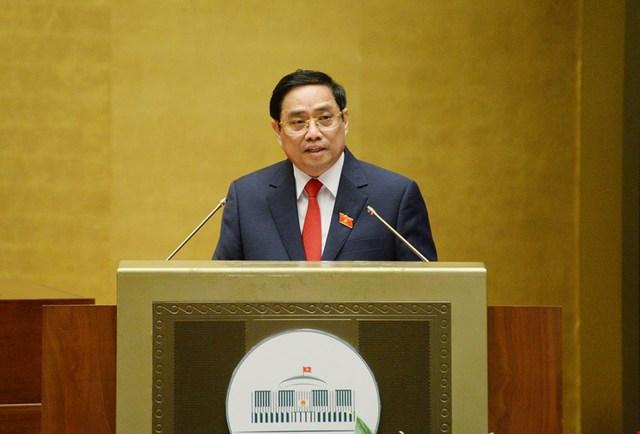 6 trọng tâm của Chính phủ trong phát biểu nhậm chức của Thủ tướng Phạm Minh Chính - Ảnh 2.