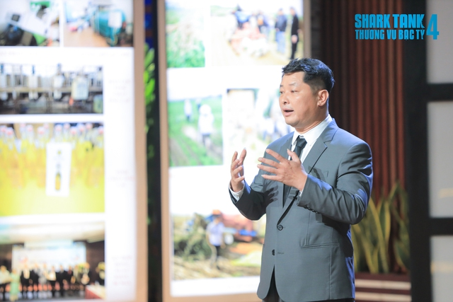 Shark Liên và Shark Phú cùng vào ép giá, Founder dầu lạc Việt chấp nhận đầu tư để trở thành doanh nghiệp số 1 Việt Nam về sản phẩm lạc - Ảnh 1.