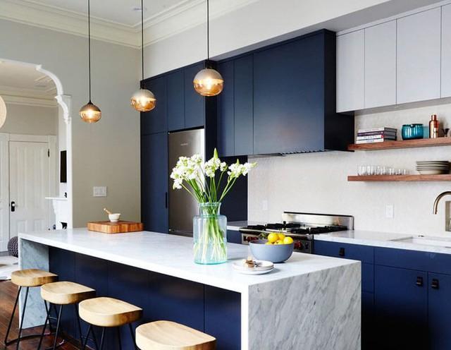 11 thiết kế bếp nhỏ đầy ấn tượng và thông minh dành cho các căn chung cư có diện tích hẹp - Ảnh 1.