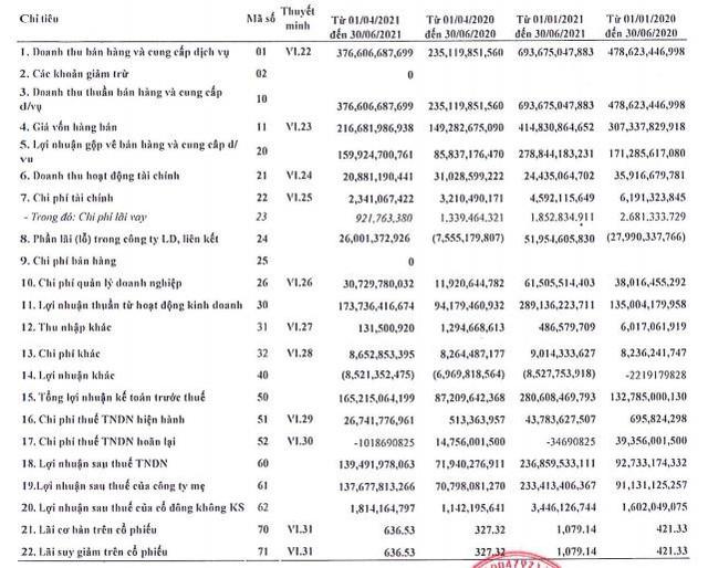 Cảng Sài Gòn (SGP): Quý 2 lãi hơn 139 tỷ đồng. tăng gấp gần 2 lần cùng kỳ - Ảnh 1.