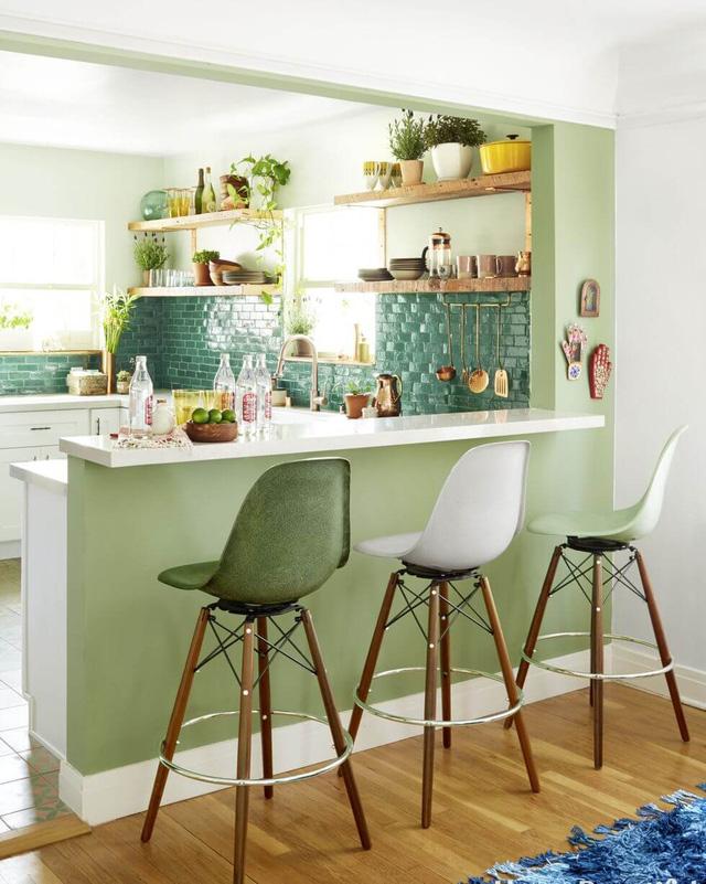 11 thiết kế bếp nhỏ đầy ấn tượng và thông minh dành cho các căn chung cư có diện tích hẹp - Ảnh 5.