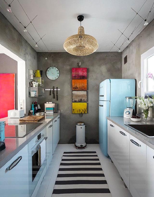 11 thiết kế bếp nhỏ đầy ấn tượng và thông minh dành cho các căn chung cư có diện tích hẹp - Ảnh 6.