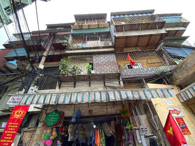 Hà Nội sẽ chi 500 tỷ đồng để rà soát, kiểm định chung cư cũ - Ảnh 6.