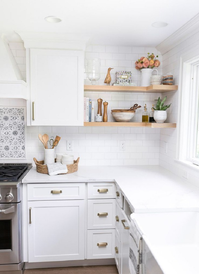 11 thiết kế bếp nhỏ đầy ấn tượng và thông minh dành cho các căn chung cư có diện tích hẹp - Ảnh 7.