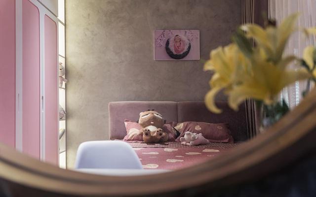 Căn hộ duplex ngập tràn ánh ánh nắng ở Hà Nội: Có nước chảy cây xanh, không gian thoáng đãng cho các hoạt động của gia đình - Ảnh 9.