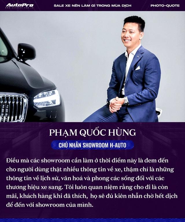 Các sếp showroom xe lớn tại Hà Nội: Thận trọng khi ôm hàng, giảm giá, hãy cho khách hàng thông tin hữu ích để bung lụa khi hết giãn cách - Ảnh 4.