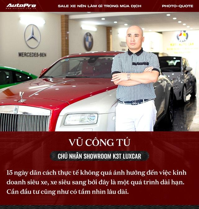 Các sếp showroom xe lớn tại Hà Nội: Thận trọng khi ôm hàng, giảm giá, hãy cho khách hàng thông tin hữu ích để bung lụa khi hết giãn cách - Ảnh 5.