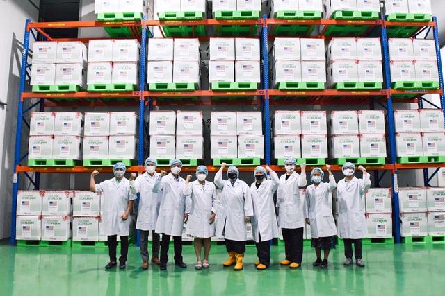 Cận cảnh kho chứa 1,5 triệu liều vắc xin Moderna Mỹ tại Thành phố Hồ Chí Minh - Ảnh 2.