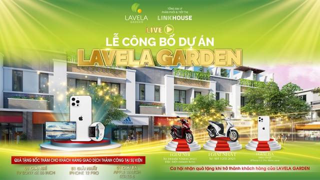 Lavela Garden bùng nổ giao dịch thành công tại lễ công bố - Ảnh 1.