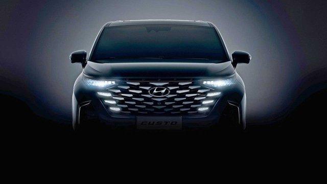 Hyundai Custo lộ diện – MPV lạ mắt trong hình hài Tucson - Ảnh 1.