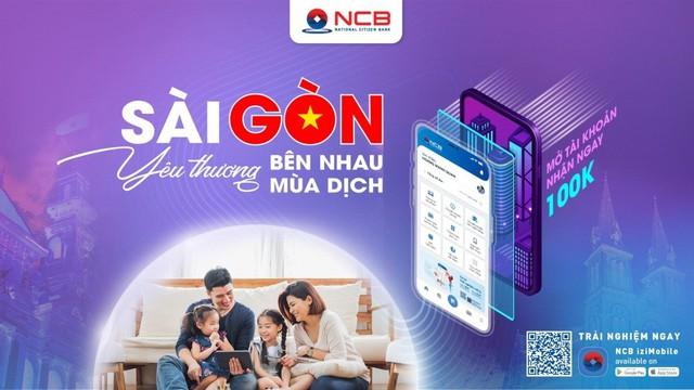 NCB ưu đãi khách hàng tại TP. Hồ Chí Minh mở tài khoản trực tuyến - Ảnh 1.