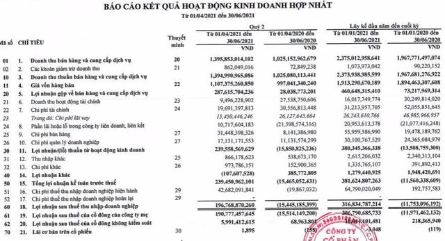 Thép Tiến Lên (TLH): Chuyển từ thua lỗ sang lãi 307 tỷ đồng trong nửa đầu năm 2021 - Ảnh 1.
