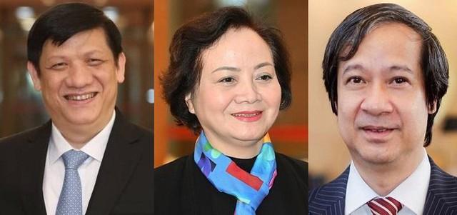 Trình Quốc hội phê chuẩn bổ nhiệm 26 thành viên Chính phủ, ai là người trẻ nhất?  - Ảnh 2.