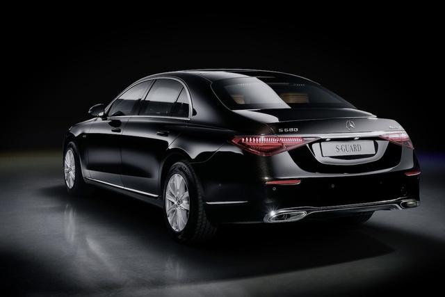Mercedes S-Class Guard 2022 ra mắt: limousine cho yếu nhân, xe tăng bọc nhung cũng chỉ đến thế - Ảnh 2.
