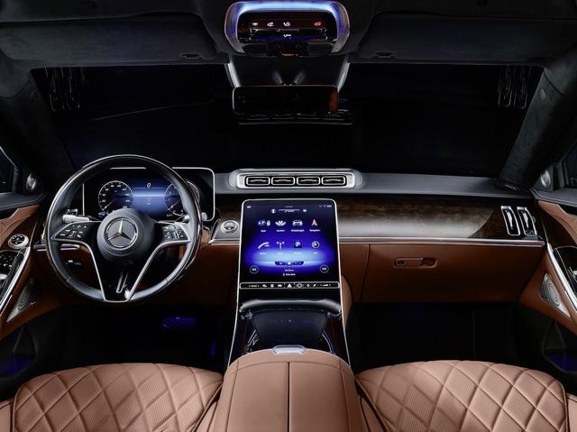 Mercedes S-Class Guard 2022 ra mắt: limousine cho yếu nhân, xe tăng bọc nhung cũng chỉ đến thế - Ảnh 3.