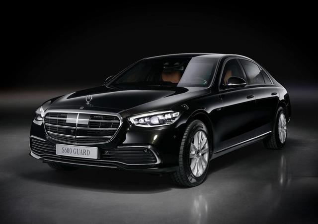 Mercedes S-Class Guard 2022 ra mắt: limousine cho yếu nhân, xe tăng bọc nhung cũng chỉ đến thế - Ảnh 1.