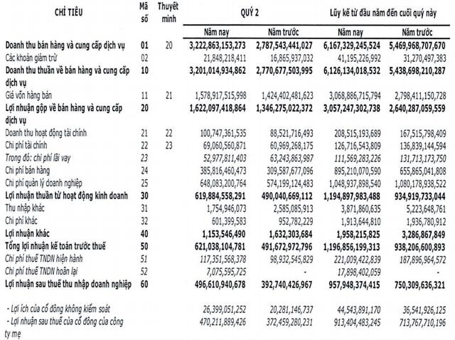 FPT Telecom (FOX) báo lãi ròng quý 2 gần 500 tỷ đồng, tăng 26% so với cùng kỳ - Ảnh 1.