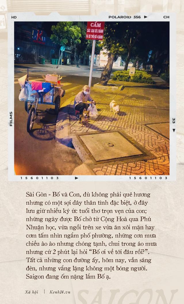 Thư gửi bố từ tâm dịch Sài Gòn: Nơi đây đã là nhà của con, và con sẽ vẫn thuỷ chung, sẽ hết mình với thành phố này chừng nào con còn thở - Ảnh 1.