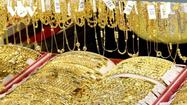 Giá vàng SJC và vàng thế giới tăng trở lại  - Ảnh 1.