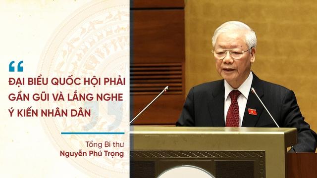 Những phát ngôn ấn tượng tại Kỳ họp thứ nhất Quốc hội khóa XV - Ảnh 1.