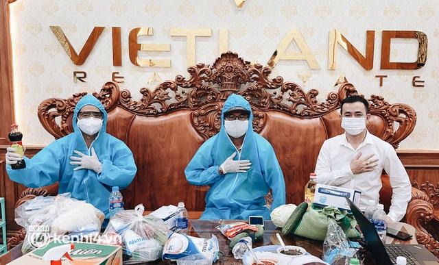 Giám đốc trẻ ở Sài Gòn thành lập hội shipper từ thiện bằng ô tô, tiếp tế lương thực cho người dân trong khu phong tỏa, cách ly - Ảnh 1.